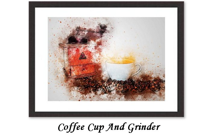 Coffee Cup And Grinder