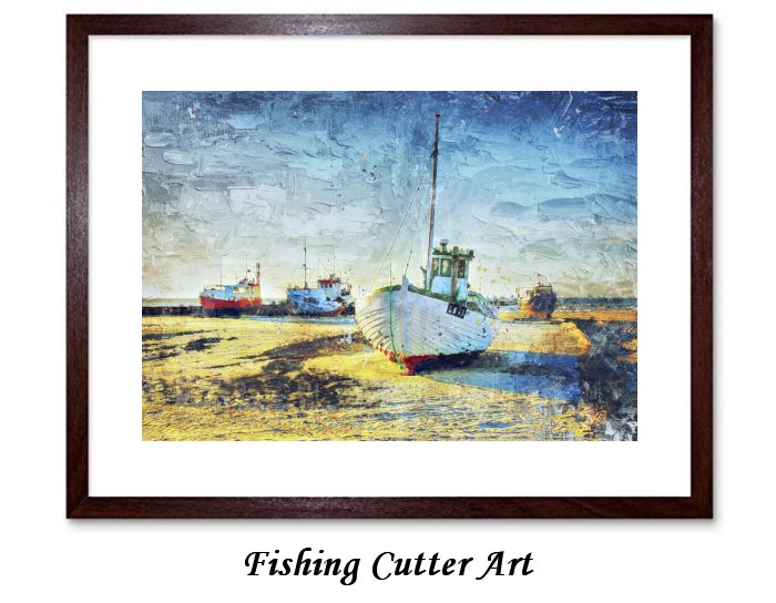 Fishing Cutter Art