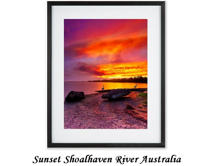 Sunset Shoalhaven River Australia