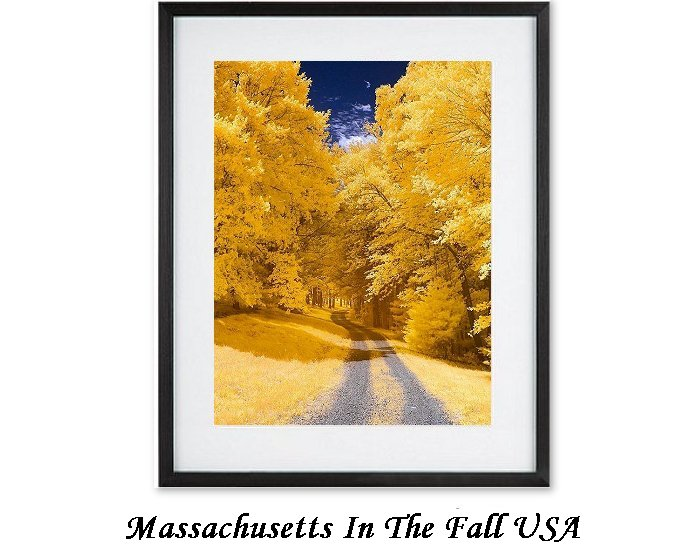 Massachusetts In The Fall USA