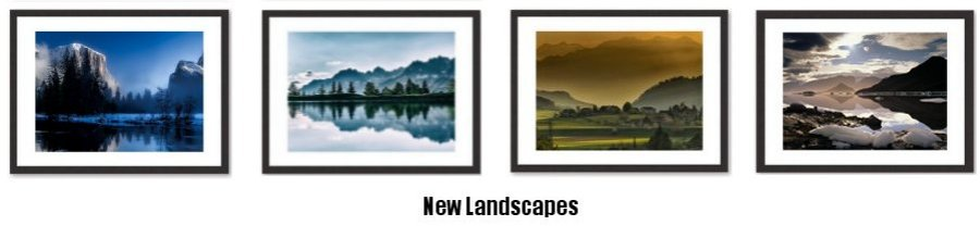 A New Selection Of Landscape Prints