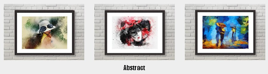 Abstract Framed Prints to grace the walls of your home