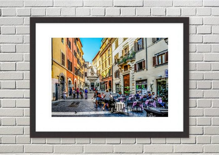 Street Scenes Framed Prints
