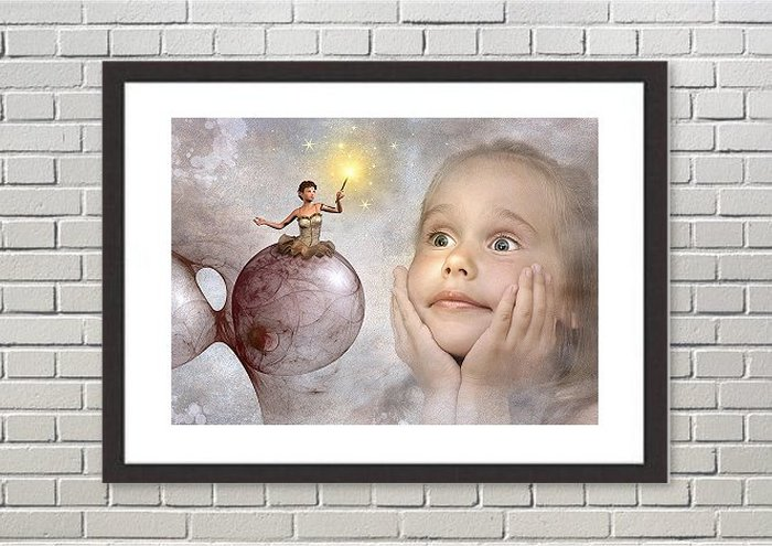 Fantasy Framed Prints