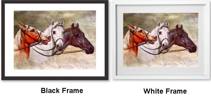 Framed Wall Art Prints Frame Choice