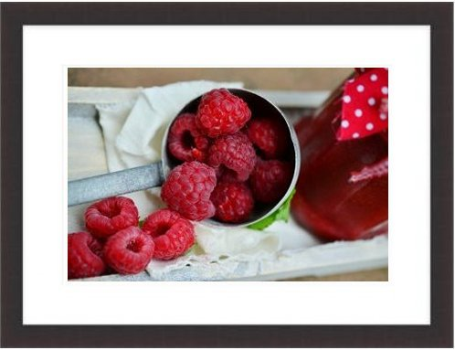 Raspberries Berries Fruits Fruit Berry Berry Red