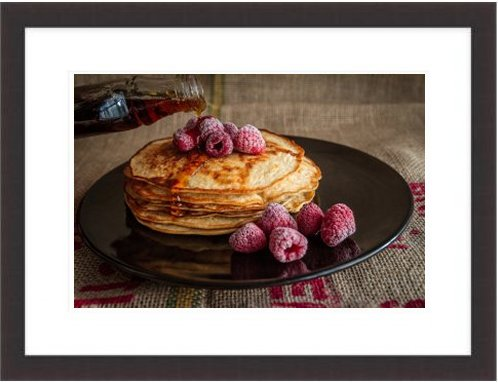 Pancakes Maple Syrup Sweet Food Breakfast