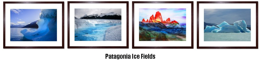 Patagonia Ice Fields prints