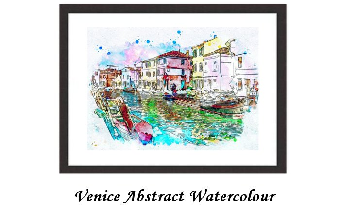 Venice Abstract Colour